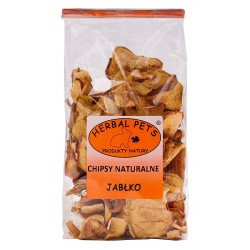 Herbal Pets JABŁKO - CHIPSY NATURALNE 100g