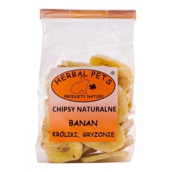 Herbal Pets BANAN - CHIPSY NATURALNE 75g