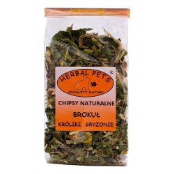 Herbal Pets BROKUŁ - CHIPSY NATURALNE 50g