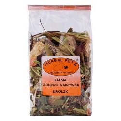 Herbal Pets Karma ZIOŁOWO-WARZYWNA dla KRÓLIKA (150g)