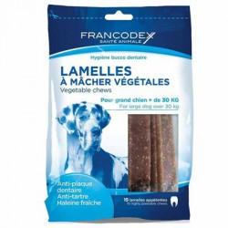 FRANCODEX paski do żucia i gryzienia usuwające kamień i brzydki zapach z pyska, dla duzych psów .
