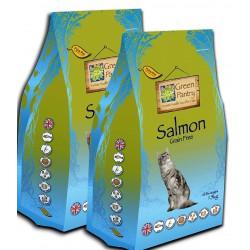 GreenPantry z łososiem dla kota